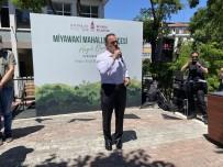 JAPONYA - Beyoglu'nda 'Miyawaki Mahalle Bahçesi' Açildi