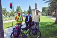 BİSİKLET TURU - Bisikletiyle 2 Bin 500 Kilometrelik Yol Kat Edecek