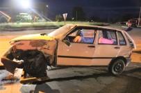 Edirne'de Trafik Kazasi Açiklamasi 4 Yarali