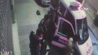 KARAKÖY - Oyuncu Aysegül Çinar Ve Eski Sevgilisi Furkan Çalikoglu'nun Gözaltina Alindigi Anlar Kamerada