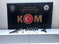 SİVİL POLİS - Samsun'da Kendilerine Polis Süsü Verip Gasp Yapan 8 Kisi Yakalandi