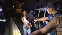 KARAKÖY - Ünlü Oyuncu Aysegül Çinar Biçakli Kavga Sonrasi Gözaltinda Açiklamasi7'si Polis 12 Yarali