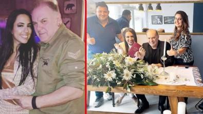Burak Sergen ayağının tozuyla nikah masasında