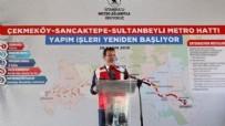 MELİH GÖKÇEK - CHP'li Ekrem İmamoğlu yönetimindeki İBB yapımına başlanan Sancaktepe Yenidoğan metro hattını durdurma kararı aldı!