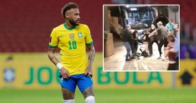 Neymar'a şok! Bir anda saldırdılar...