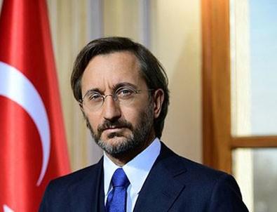 İletişim Başkanı Fahrettin Altun'dan AB'ye 'ikiyüzlülük' tepkisi!