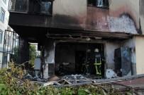 DEMİR KORKULUK - Antalya'da Giris Kattaki Daire Alev Topuna Döndü Açiklamasi 1 Yarali