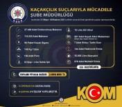 KAÇAK ALKOL - Izmir'de 3 Milyon Liralik Kaçak Ürün Ele Geçirildi