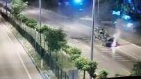 JANDARMA ASTSUBAY - Polis Memurunun Sehit Oldugu Kaza MOBESE Kamerasina Yansidi