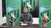 HÜSEYİN ÜZÜLMEZ - Yeni Sezon Öncesi Kocaelispor'un Hedefi Açiklandi
