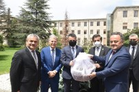 CUMHUR ÜNAL - AK Parti Karabük Heyetinden Bakan Pakdemirli'ye Ziyaret