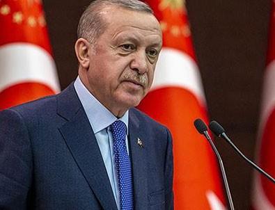 Başkan Erdoğan'dan şehit ailesine taziye!