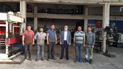 Baskan Üçok, Sanayi Sitesi Esnafini Dolasti