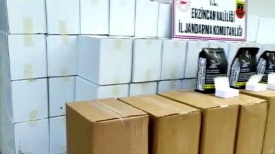Erzincan'da Jandarma 270 Kilo Kaçak Tütün Ile 1 Milyon 470 Bin Makaron Ele Geçirdi
