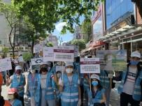ESENLER BELEDİYESİ - Esenler'de Ögrencilerden Çevre Yürüyüsü