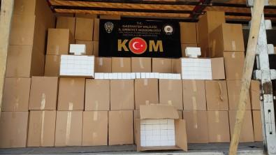Gaziantep'te 2 Milyon 220 Bin Makaron Ele Geçirildi Açiklamasi 2 Gözalti