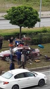 Giresun'da Trafik Kazasi Açiklamasi 4 Yarali