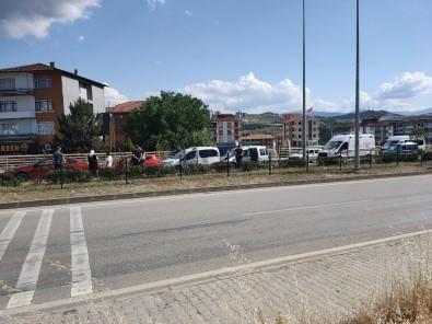 Karabük'te 4 Araçli Zincirleme Kaza Açiklamasi 2 Yarali