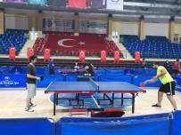 SPOR KOMPLEKSİ - Kurumlar Arasi Masa Tenisi Turnuvasi Basladi