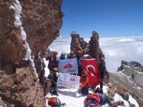 ERCIYES - Sütdonduran Buzul Tirmanisi Tamamlandi
