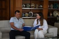 ALI ACAR - Truskavest Belediye Baskan Yardimcisi Kotyk, Kemer Belediye'sinde