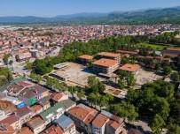 BURSA VALISI - Vali Canbolat Yeni Belediye Binasi Santiyesini Inceledi