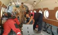 KEÇİ - Yangin Helikopterine Giren Yilan Kurtarildi