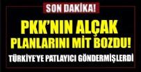 PKK'YA OPERASYON - MİT'ten Duhok'ta nokta operasyon! PKK'lı teröristler etkisiz hale getirildi