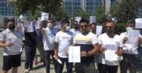 İSTANBUL ATAŞEHİR'DE İNTİHAR - SAS Holding önünde ikinci eylem: Tosuncuk gibi kaçmadan yakalayın!