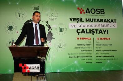 AOSB'de 'Yesil Mutabakat'in Ilk Adimi Atildi