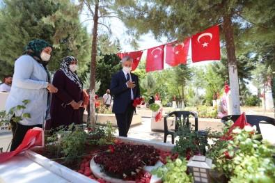 Baskan Tahmazoglu'ndan Bayram Öncesi Anlamli Ziyaret