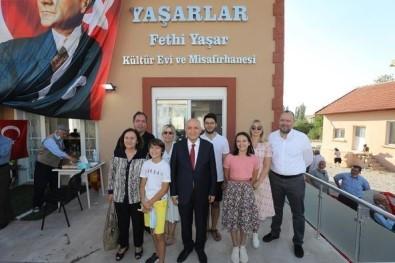Baskan Yasar, Memleketi Sandikli'ya Kültür Evi Yaptirdi