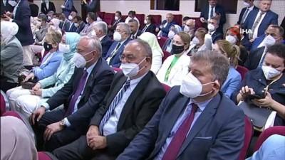 Cumhurbaskani Erdogan, KKTC Cumhuriyet Meclisi'ne Geldi