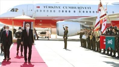 Cumhurbaskani Erdogan, KKTC'de Resmi Törenle Karsilandi