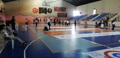 Erzurum'da Floor Curling Müsabakalari Basladi