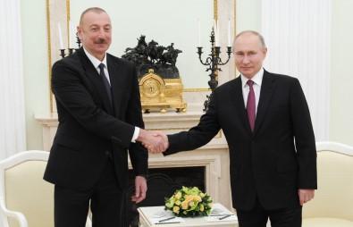 Putin Ve Aliyev, Yarin Moskova'da Görüsecek