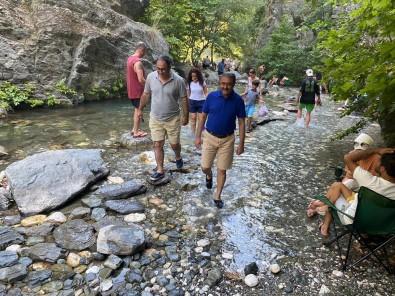 Vali Sildak, Sahinderesi'nin Turizm Alaninda Cazip Bir Lokasyona Sahip Oldugunu Söyledi
