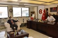 MİMARİ - Baskan Bakkalcioglu Metro Istanbul Genel Müdürü Özgür Soy 'U Agirladi