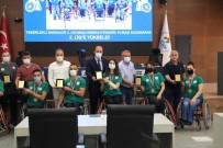 PAMUKKALE - Baskan Örki'den Sampiyonlara Tesekkür Plaketi