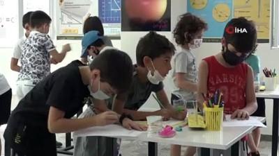 Çocuklar Matematigi Eglenerek, Dokunarak Ve Müzik Esliginde Ögrendi