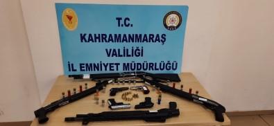 Kahramanmaras'ta 15 Silah Ele Geçirildi
