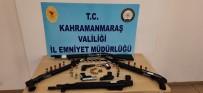 MERMİ - Kahramanmaras'ta 15 Silah Ele Geçirildi