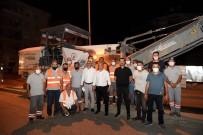 SOSYAL GÜVENLIK KURUMU - Sokullu Caddesi'nde Gece Baslayan Çalisma Sabah Bitirildi