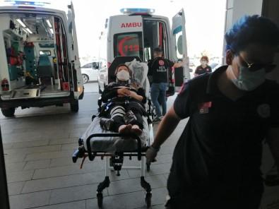 Aksaray'da Otomobiller Çarpisti Açiklamasi 4 Yarali
