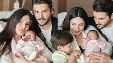 Almeda Abazi kızının yüzünü gösterdi