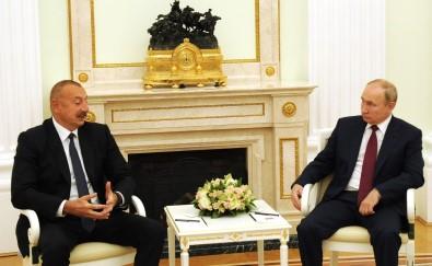 Azerbaycan Cumhurbaskani Aliyev Moskova'da