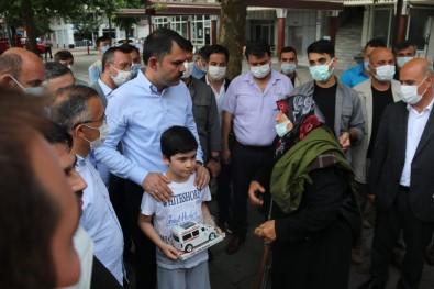 Bakan Murat Kurum Açiklamasi 'Bayramda Bir Fiil Tüm Ekiplerimiz Sahada Çalisiyor Olacaklar'