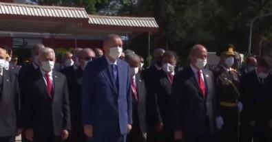 Başkan Erdoğan KKTC'de törene katıldı!
