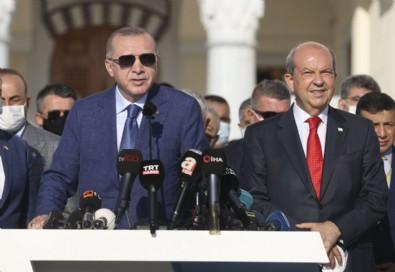 Başkan Erdoğan konuştu, Yunan çıldırdı! KKTC çıkarması yine Yunanistan manşetlerinde...