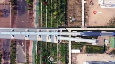 Çin, Saatte 600 Kilometre Hiza Çikabilen Maglev Trenini Tanitti